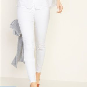 Old Navy Jeans - Old Navy mid-rise rockstar pull on leggings sz 12